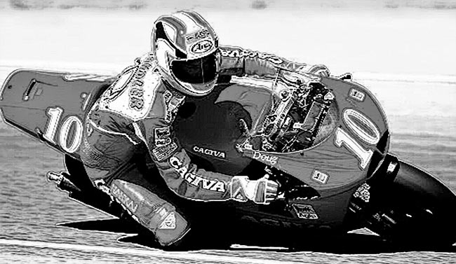 Doug Chandler Cagiva GP