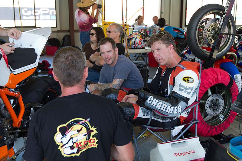 JJ of KFG Racing