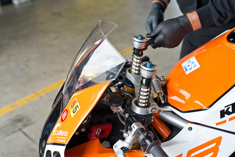 Front springs KTM RC8R