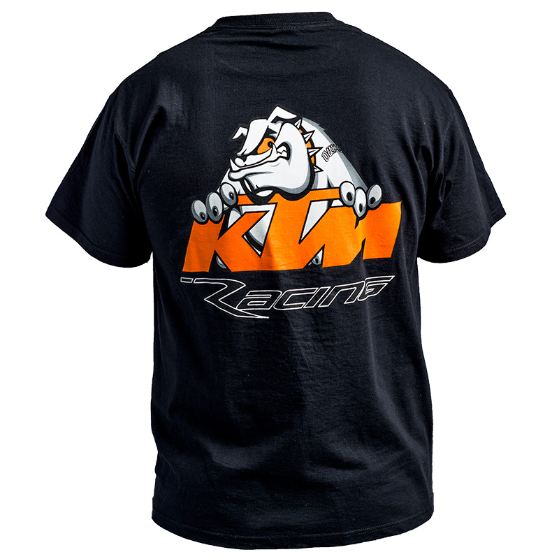 KTM Racing T-shirt - BLACK