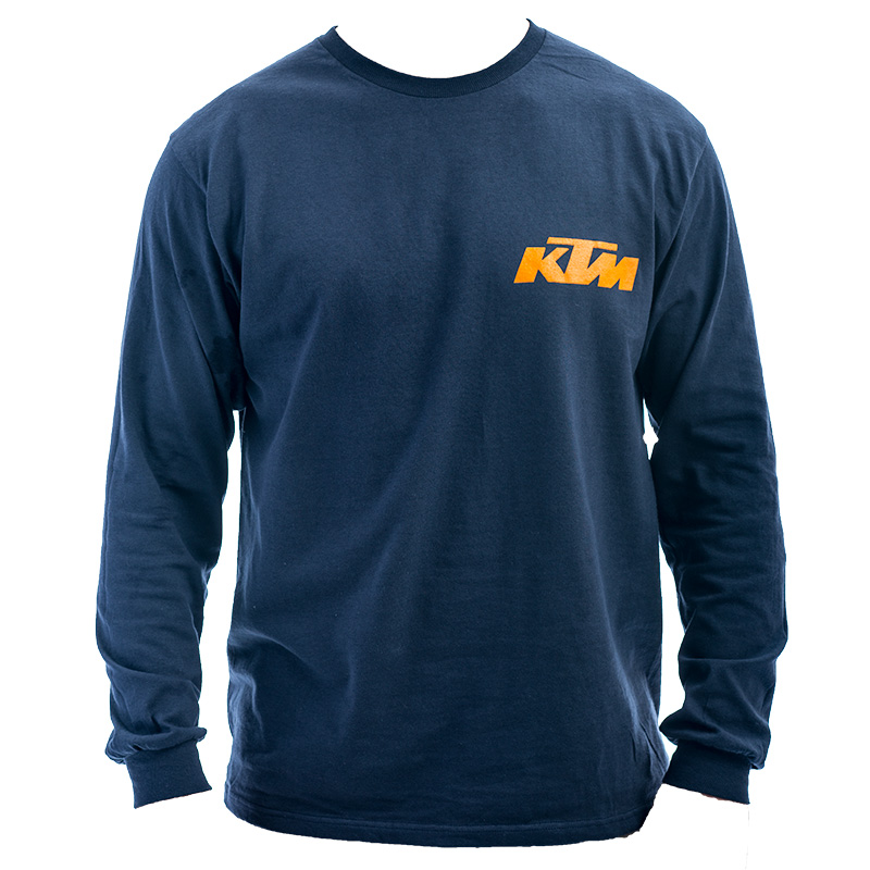 KTM Race Long Sleeve T-Shirt - BLUE