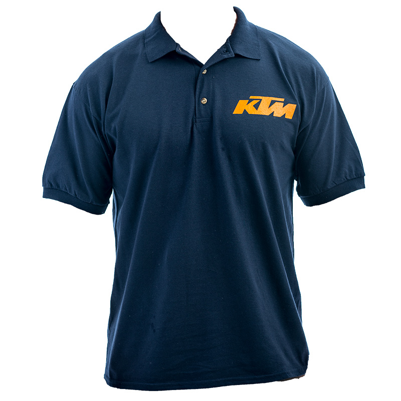 KTM Race Polo Shirt - BLUE